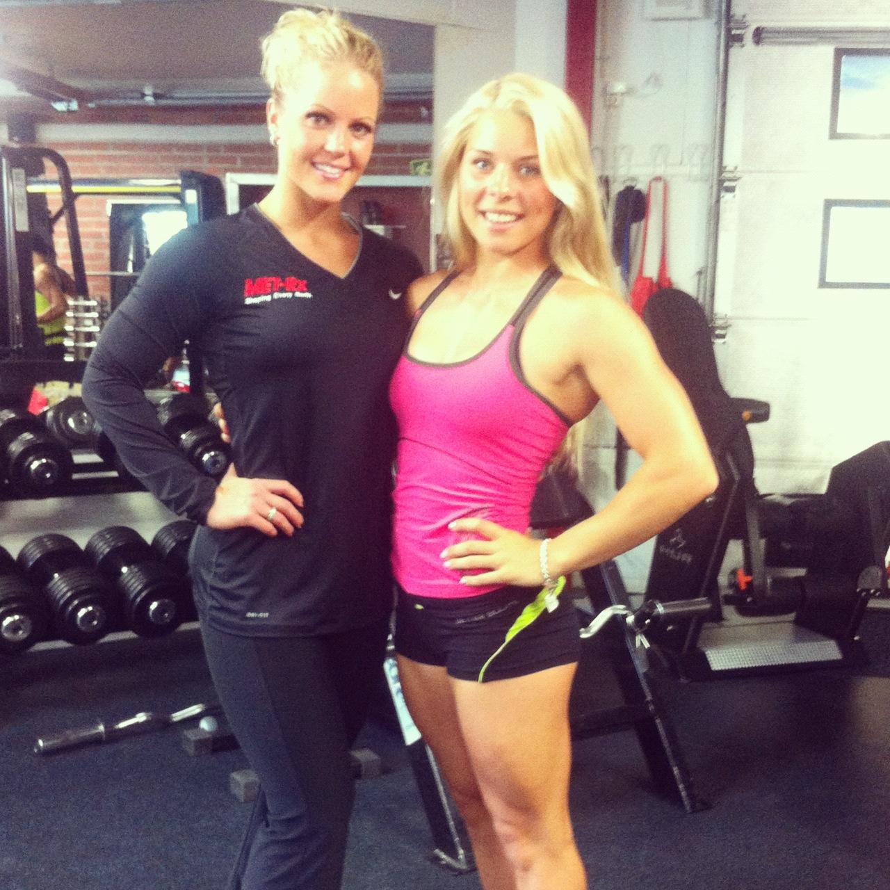 Tapaamassa fitnessammattilaista kesällä 2012 USAsta, Nicole Wilkins IFBB Pro.
