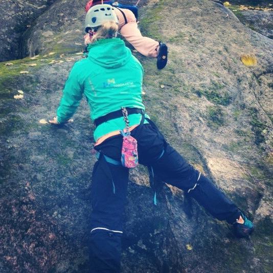 Kuka veis mut kiipeileen? #tbt #vierumäki #outdoorkurssi
