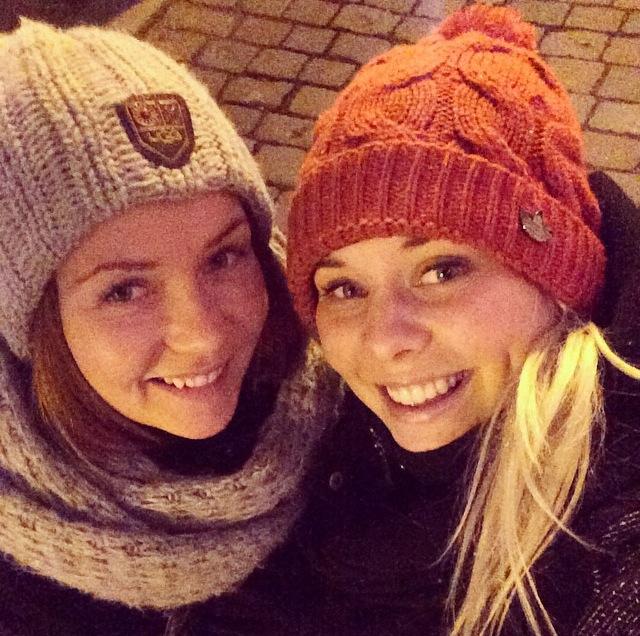 Tontut Tallinnassa. Joulutori, lumisade, hyvä ystävä, laatuaikaa. Oli kivaa!